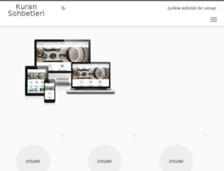 kuransohbetleri.com screenshot