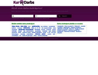 kurdarbs.lv screenshot