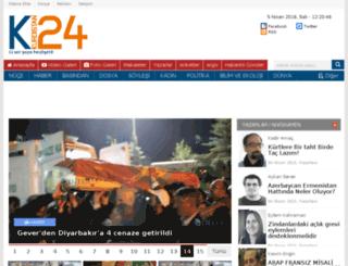 kurdistan24.info screenshot