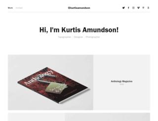 kurtisamundson.com screenshot