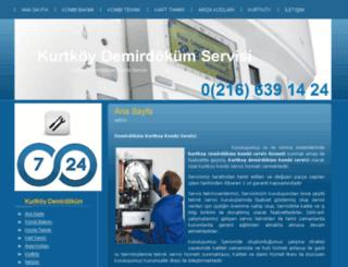 kurtkoydemirdokumservisi.org screenshot