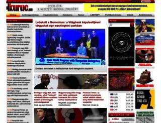 kuruc.info screenshot