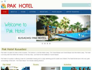 kusadasipakotel.com screenshot