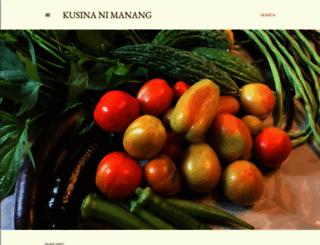 kusinanimanang.blogspot.com screenshot
