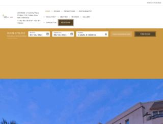 kutaparadisohotel.com screenshot