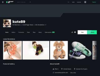 kute89.deviantart.com screenshot