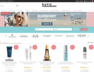 kutiz.com.br screenshot