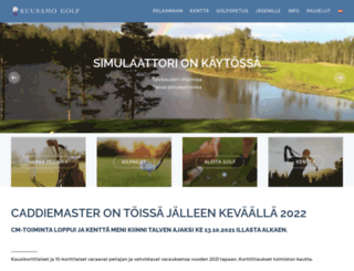 kuusamogolf.fi screenshot