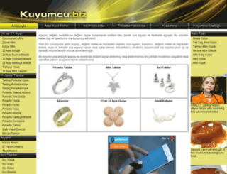 kuyumcu.biz screenshot