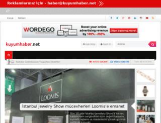kuyumhaber.net screenshot