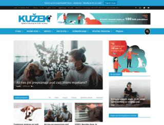 kuzek.si screenshot