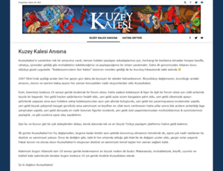 kuzeykalesi.com screenshot
