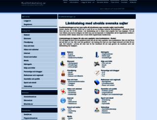 kvalitetskatalog.se screenshot