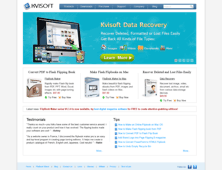 kvisoft.com screenshot
