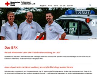 kvlandsberg.brk.de screenshot