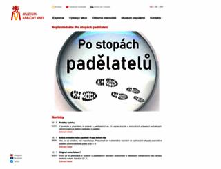 kvmuz.cz screenshot