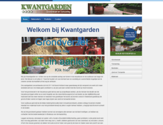 kwantgarden.nl screenshot