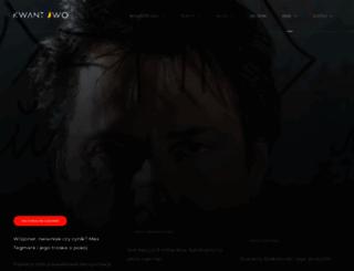 kwantowo.pl screenshot