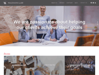 kwatsonlaw.com.au screenshot