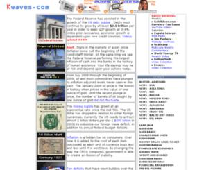 kwaves.com screenshot