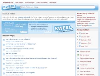 kwero.nl screenshot