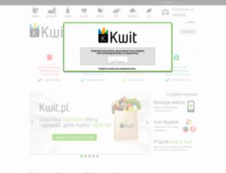 kwit.pl screenshot