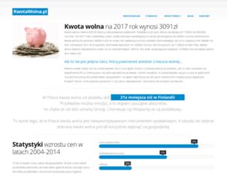 kwotawolna.pl screenshot