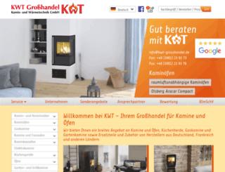 kwt-grosshandel.de screenshot