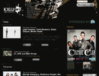 kxlu.dola.com screenshot