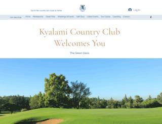 kyalamicc.co.za screenshot