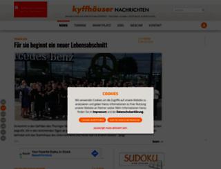 kyffhaeuser-nachrichten.de screenshot