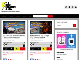kyleheimann.com screenshot