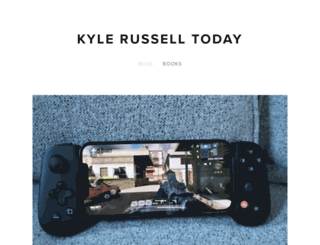 kylerussell.today screenshot