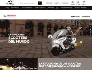 kymco.com.co screenshot