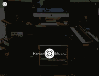 kyndamusic.co.uk screenshot