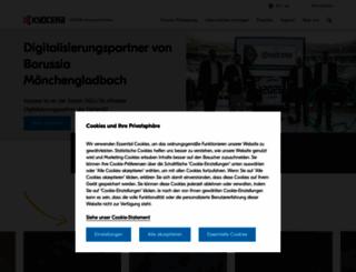 kyoceradocumentsolutions.de screenshot