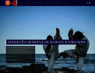 kyokushin.ro screenshot