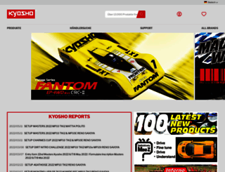 kyosho.de screenshot