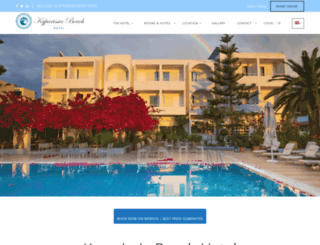 kyparissiabeachhotel.gr screenshot