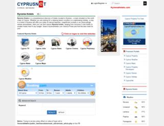 kyreniahotels.com screenshot