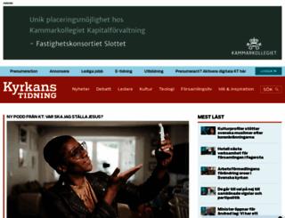 kyrkanstidning.se screenshot