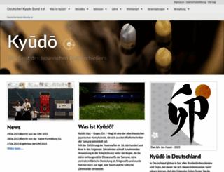 kyudo.de screenshot