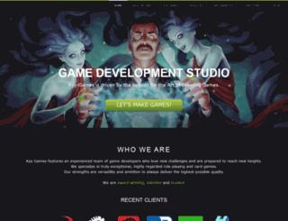 kyygames.com screenshot