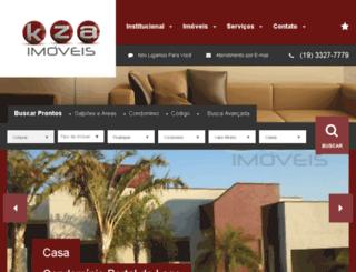 kzaimoveis.com.br screenshot