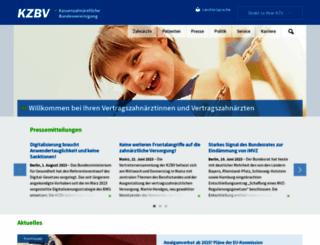 kzbv.de screenshot