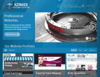 kznweb.net screenshot
