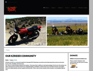 kzrider.com screenshot