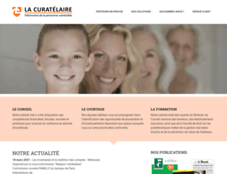 la-curatelaire.fr screenshot