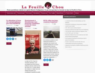 la-feuille-de-chou.fr screenshot