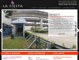 la-fiesta.com.sg screenshot